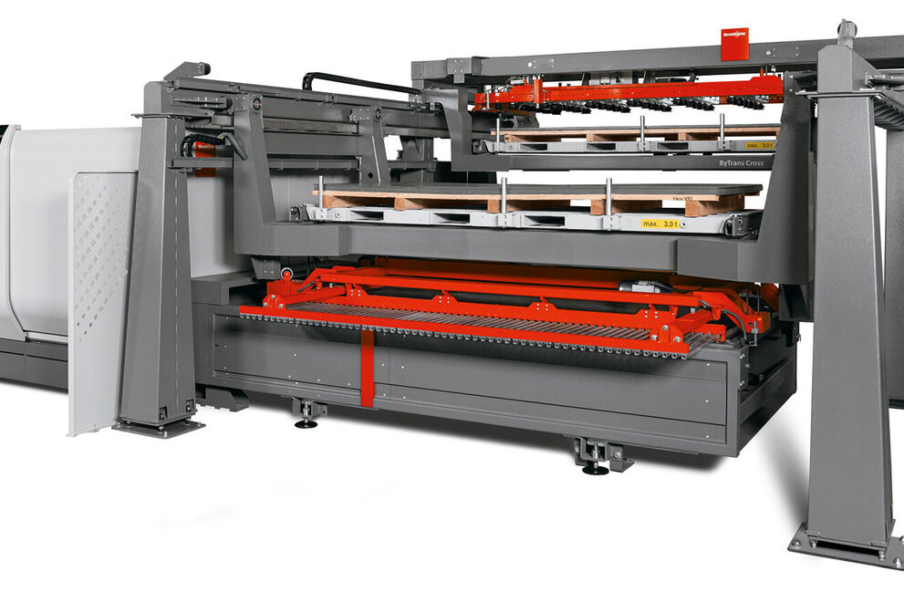 ByTrans Cross 4020: Automation im Grossformat